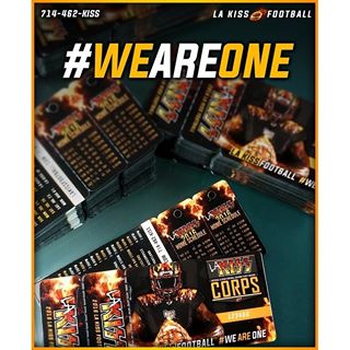 Season Ticket Holder member cards are in! We can't wait to see all of you on April 2nd! #LAKISSFOOTBALL #WEAREONE