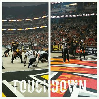 TOUCHDOWN #LAKISSFOOTBALL! Thank you Rory Nixon!!