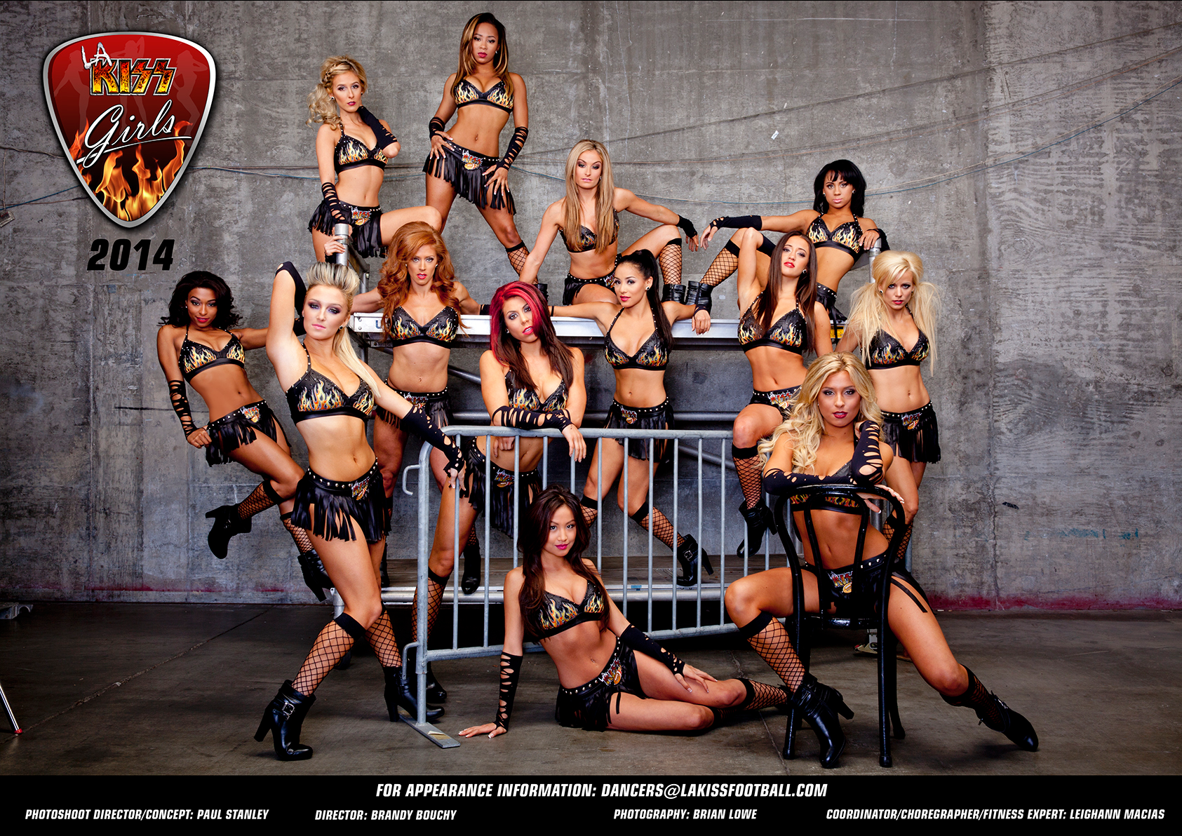 The LA KISS GIrls