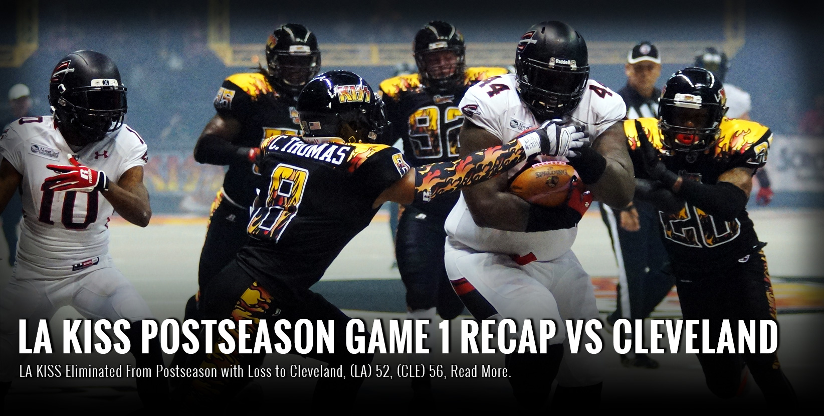 LA KISS Eliminated From Postseason with Loss to Cleveland