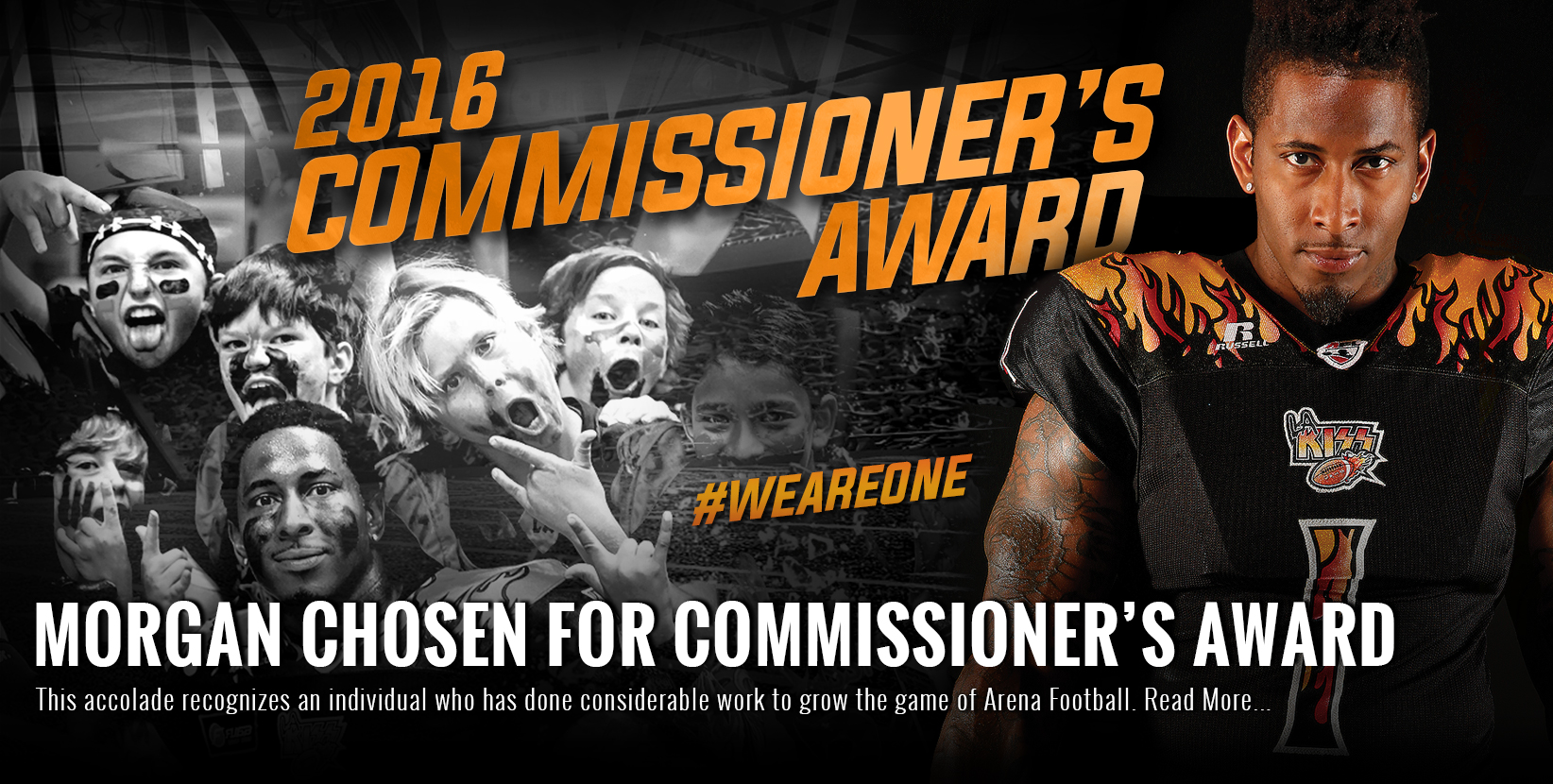 Morgan Chosen for Commissioner's Award